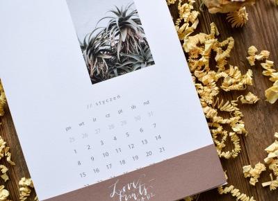Kwiatowy kalendarz
