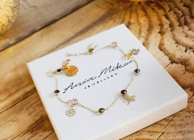 Złota biżuteria to coś, co kocham :)