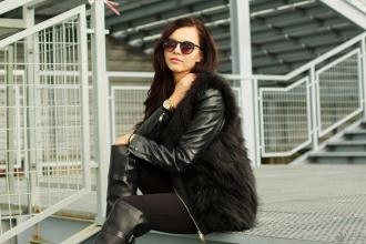 missblaack.blogspot.com: Total black look