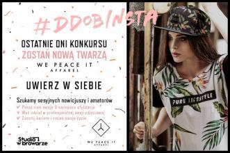 MJStyle by Magdalena Jaworska: Ostatnie dni konkursu! Uwierz w siebie i zostań twarzą We Peace It! Marki #Wepeaceit apparel