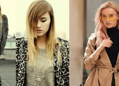 Blogerki modowe kiedyś i dziś: Maffashion - ogromna różnica!
