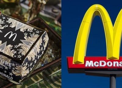 Znany projektant stworzył luksusowe pudełka dla McDonald's!