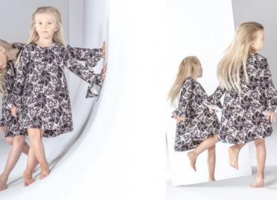 Modne sukienki dla dziewczynek   Inspiracje modowe :: blog modowy - modoweinspiracje.pl