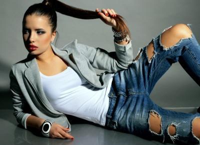Twój Denim Total Look, czyli cała na jeansowo! | Inspiracje modowe :: blog modowy - modoweinspiracje.pl