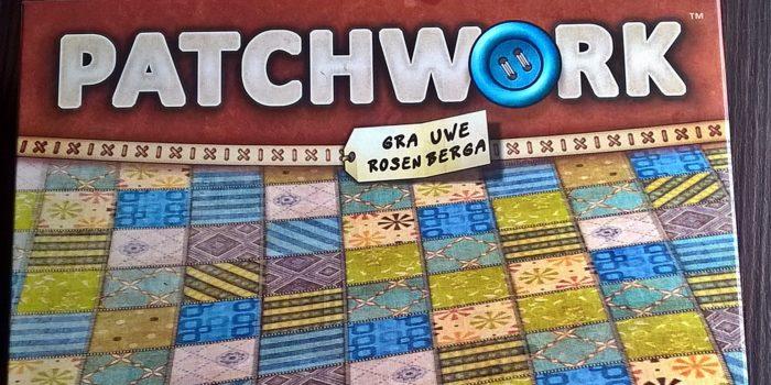 Patchwork- gra planszowa   Mój kawałek podłogi