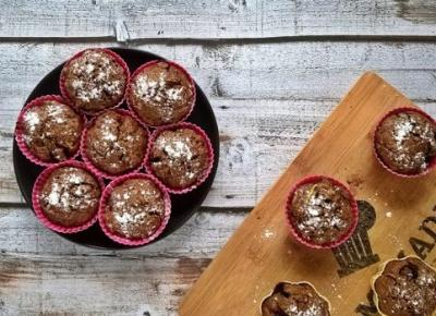 Cukiniowe muffinki z borówkami | Mój kawałek podłogi