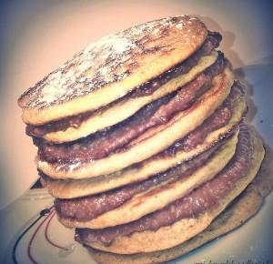 Pancakes z domową nutellą | Mój kawałek podłogi