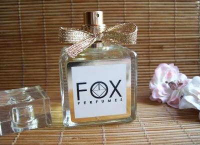 Tyle zapachu od FOX Perfumes,czy to normalne ?