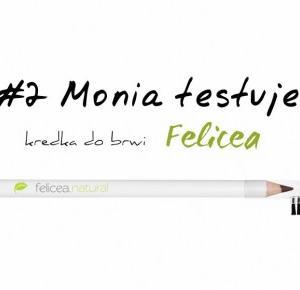 Monia - blog - lifestyle: #2 Monia testuje - kredka do brwi Felicea - naturalne kosmetyki z Polski