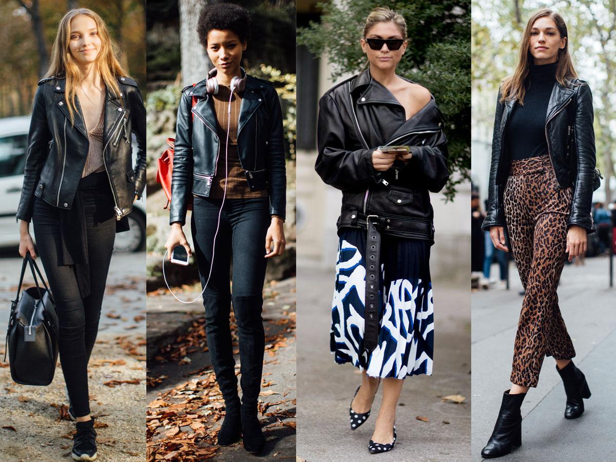 Czarna ramoneska to klasyk - jaką kupić? Modne modele na wiosnę 2019 - Shopping - Polki.pl