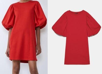 Czerwone sukienki w stylu Anny Lewandowskiej - 3 modele z Zary - Jak się ubrać - Polki.pl