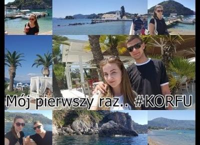 Mój pierwszy raz.. #Korfu 💙😅