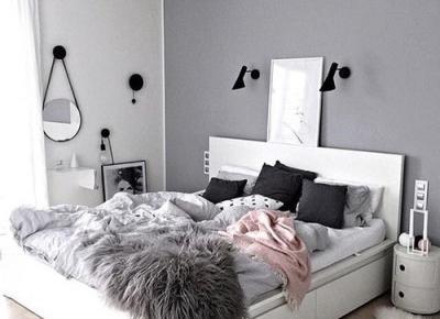 Pomysły na piękną sypialnie w delikatnych kolorach – Monxday