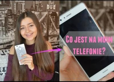 CO JEST NA MOIM TELEFONIE? | WHAT'S ON MY PHONE?