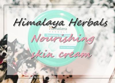 Himalaya Herbals Nourishing Skin Cream review/recenzja