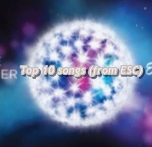 msjacksonn: Top 10 songs (from ESC)