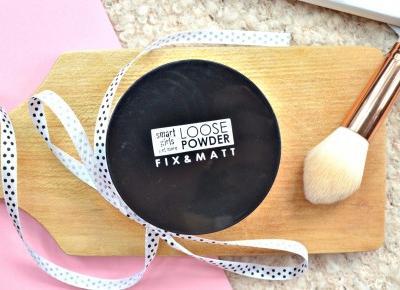 Smart Girls Get More FIx&Matt Loose Powder review/recenzja