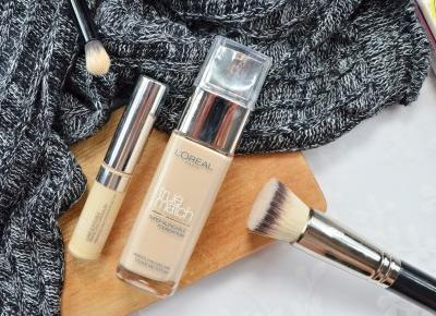 L'Oreal True Match Foundation&Concealer recenzja MÓJ HIT!