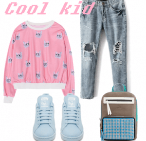 Magdalena Dereniowska: Outfit's to school