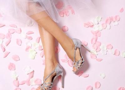 Buty ślubne dla kobiet.