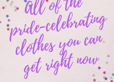 Ubrania celebrujące Miesiąc Równości 2018