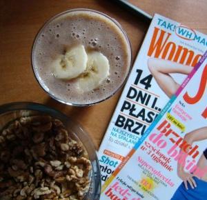#68 Healthy cocktail with bananas, cinnamon and chia seeds || Zdrowy koktajl z bananów z dodatkiem cynamonu i nasion chia - My Vogue