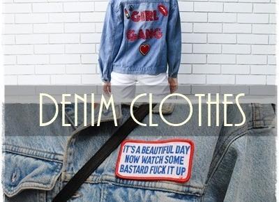 #Denimclothes  - wielki powrót jeans'u !        |         Obiboczki
