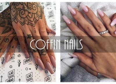 9 best ideas about Coffin Nails - czyli paznokcie w stylu Kylie Jenner | Obiboczki