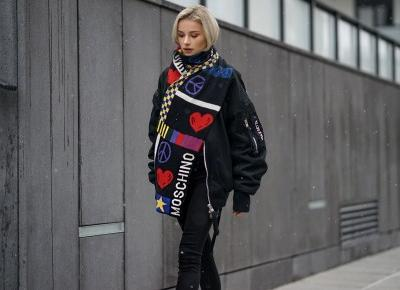 Szalik Moschino x Maffashion