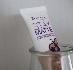 My nr. 1 - Stay Matte z Rimmel  - Natalia Kaczmarek