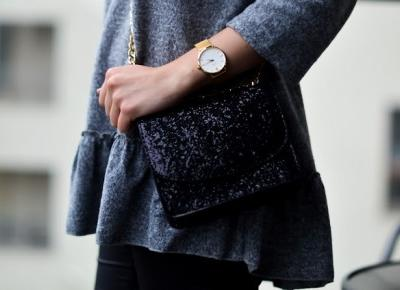 Nat's by Nat: Burgundy Heels & Glitter Bag