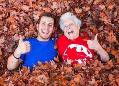 Najzabawniejsza babcia na YouTube!