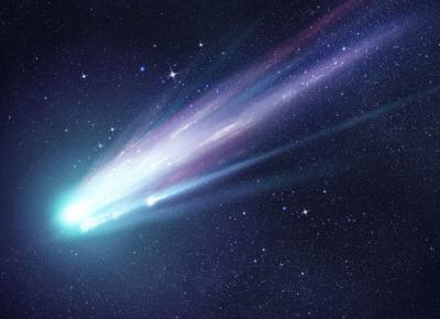 Kometa widoczna z Polski! Kiedy spojrzeć w niebo?