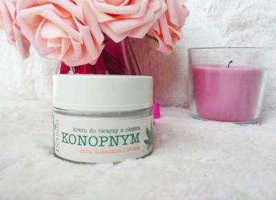 Recenzja - Efektima krem do twarzy z olejem konopnym cera tłusta i mieszana | N. o kosmetykach