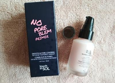 Recenzja - No Pore Blem Primer Touch in Sol | N. o kosmetykach