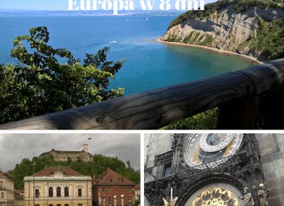 Jak dojadę do ?: 8-dniowy trip po południowej Europie