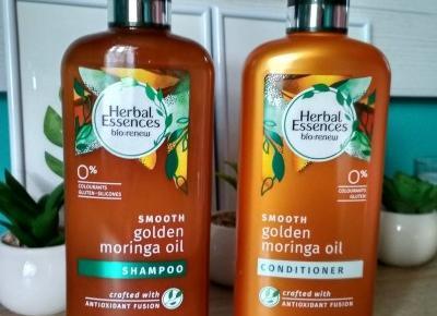 Recenzja - Herbal Essences Bio:renew Moringa Oil szampon i odżywka | N. o kosmetykach