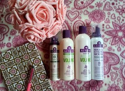 Recenzja - Aussie Aussome Volume szampon, odżywka, pianka i suchy szampon | N. o kosmetykach