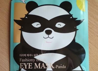 Recenzja - Milatte maska do okolicy oczu w płachcie panda | N. o kosmetykach