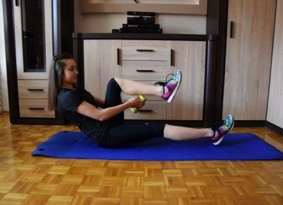 Nati jest fit!: Trening brzucha w domu