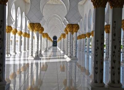 Abu Dhabi i Meczet Szejka Zayeda… – NASZE PODRÓŻE