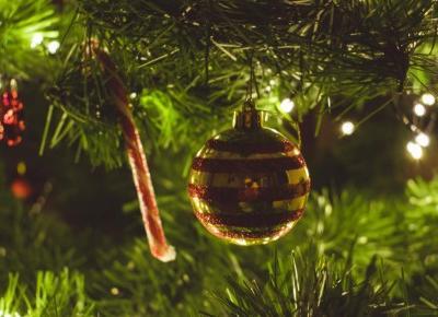 naturalnie pozytywnie: Świąteczne ozdoby. Blogmas #8