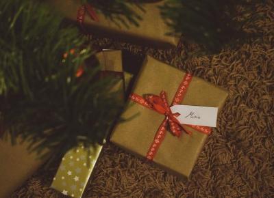naturalnie pozytywnie: Pakowanie prezentów. Blogmas #11