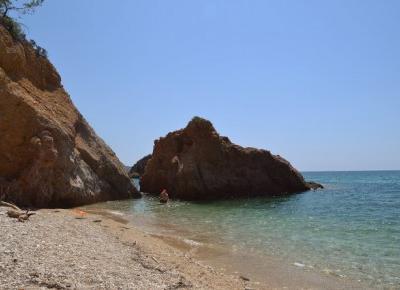 Istota ludzka: Thassos, Greece.