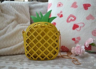 Istota ludzka: Summer bag | pineapple