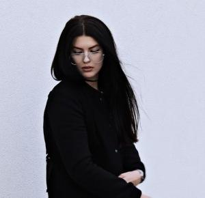 Jacket with stripes                  Natalia Biernacka