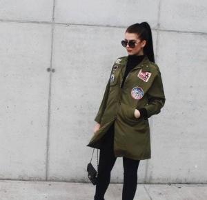Military jacket | Natalia Biernacka