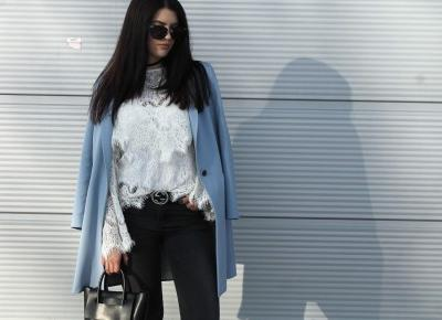 BABY BLUE COAT  | nataliabiernacka blog