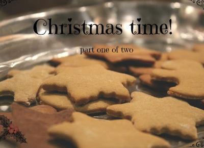Nicole's blog: Christmas time! #1 - domek z piernika, pierniczki i inne smakołyki!