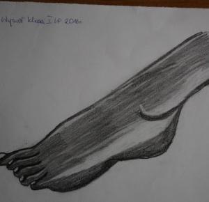 Nicole's blog: PLASTYK LIFE #1 - wprowadzenie   szkice stóp i dłoni